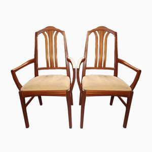 Vintage Teak Armchairs from Nathan, 1960s, Set of 2