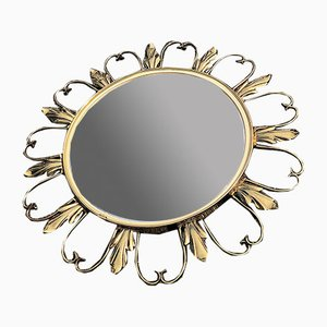Espejo de latón, años 50