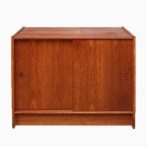 Mueble danés Mid-Century de teca, años 70