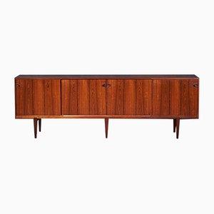 Danish Rosewood Sideboard by Henry Rosengren Hansen for Brande Møbelfabrik, 1950s