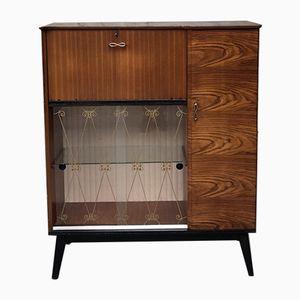 Mid-Century Teak Drinks Cabinet from Hubbinet, 1950s