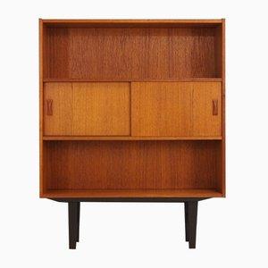 Vintage Teak Shelf with Cabinet from Clausen & Søn