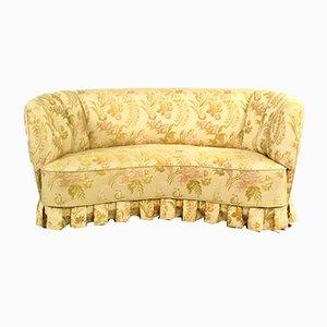Geschwungenes dänisches Vintage Sofa, 1950er