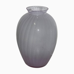 Lampada da tavolo in vetro di Murano di Carlo Moretti, anni '70