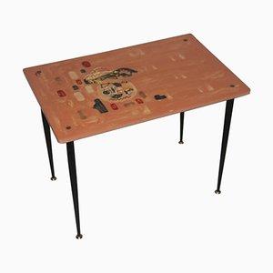 Table Basse Mid-Century en Résine
