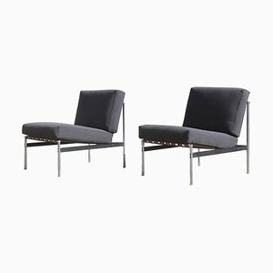 Mid-Century Lounge Chairs from Knoll International, 1960s, Set of 2
