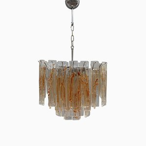 Lámpara de araña de cristal de Murano de La Murrina, años 70