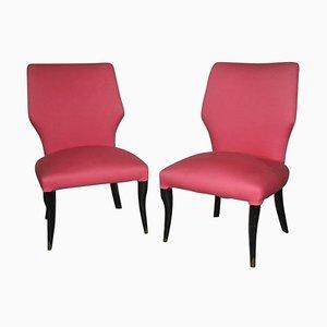 Kleine Vintage Stühle, 1950er, 2er Set