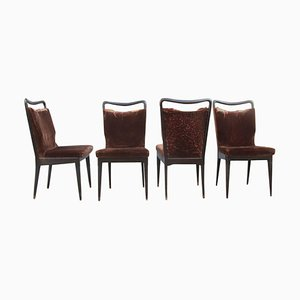 Vintage Chairs from Isa Bergamo, Set of 4