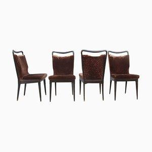 Vintage Stühle von Isa Bergamo, 4er Set