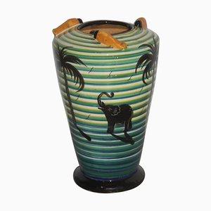 Futuristische Vintage Vase, 1930er
