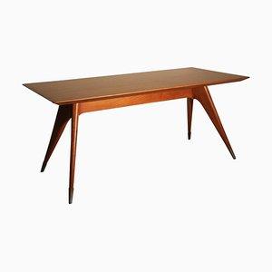 Italienischer Mid-Century Tisch aus Kirschholz, 1950er