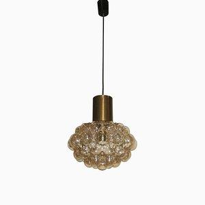 Lámpara de araña de cristal burbuja de Helena Tynell, años 60