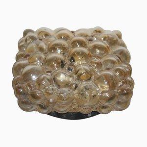Aplique de cristal burbuja de Helena Tynell, años 60