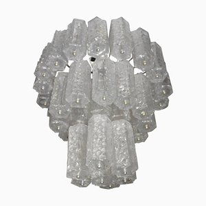 Italian Murano Glass Chandelier from Venini, 1960s