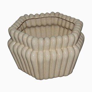 Italian Ceramic Vase by Tommaso Barbi, 1970s