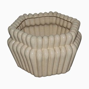 Jarrón italiano de cerámica de Tommaso Barbi, años 70
