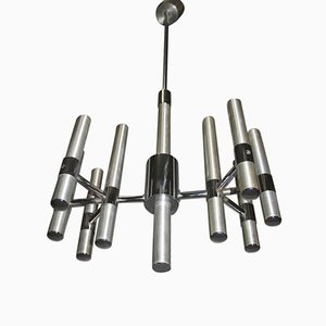 Lámpara de araña minimalista, años 70