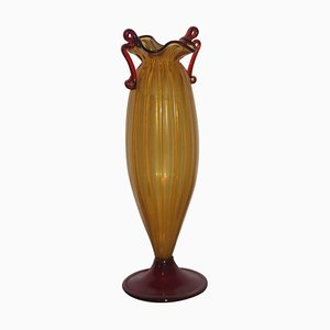 Murano Art Glass Vase, 1940s