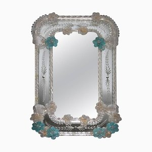 Tischspiegel aus Muranoglas von Seguso, 1950er