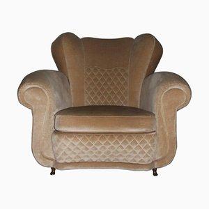 Mid-Century Sessel mit Entenschnabelfüßen