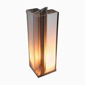 Lámpara de mesa minimalista vintage escultural, años 70