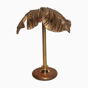 Lampe de Bureau Vintage en Céramique et Laiton, Italie