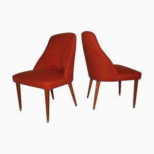 Mid-Century Lounge Chairs, Set of 2