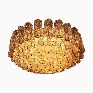 Italienische Mid-Century Deckenlampe von Venini