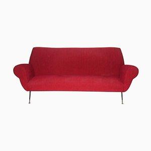 Sofá curvo Mid-Century de Gigi Radice para Minotti