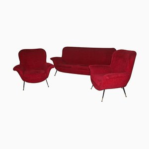 Mid-century Living Room Set by Gigi Radice for Minotti, 1950s
