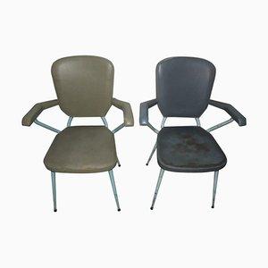 Chaises de Bureau Mid-Century, 1950s, Set de 2