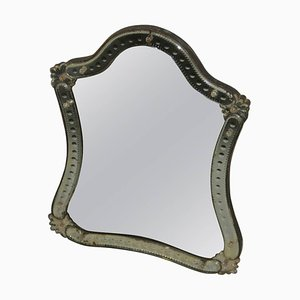 Vintage Crystal Table Mirror, 1920s