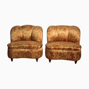 Kleine Vintage Sessel von Guglielmo Ulrich, 2er Set