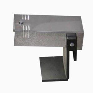Lámpara de mesa minimalista de acero, años 70