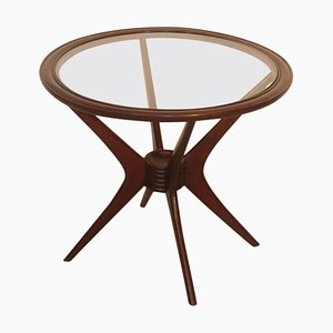 Mid-Century Walnut Coffee Table from Cassina