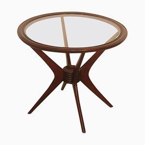 Tavolino da caffè Mid-Century in legno di noce di Cassina