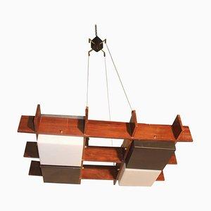 Lámpara de techo de Angelo Brotto para Esperia, años 60