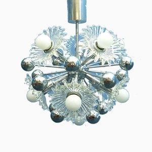 Lámpara Sputnik Mid-Century de cromo de Cosack, años 60