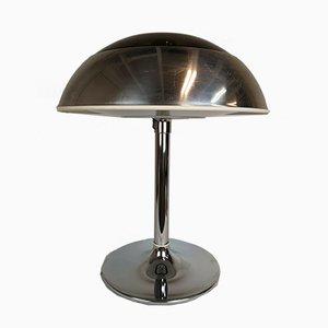 Lámpara de mesa grande de cromo de Fagerhult Sweden, años 70