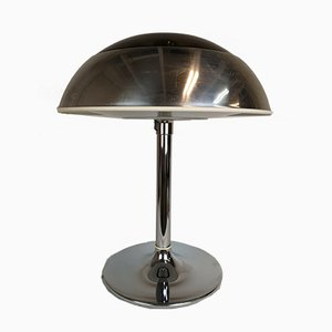 Large Chrome Table Lamp from Fagerhult Sweden, 1970s