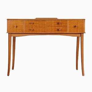 Mid-Century Walnut and Birch Console Table from Gordon Russell