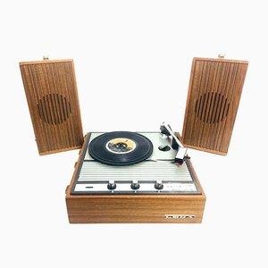 Mid-Century Italian Lesa Mercurio Record Player, 1960s