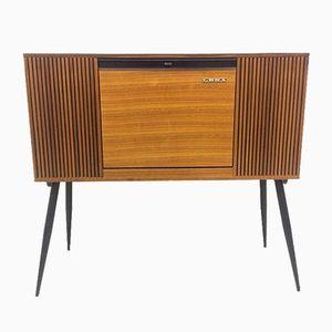 Mid-Century Italian Lesa Phon 680 Record Player Cabinet, 1960s