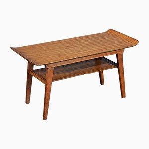 Table Basse à 2 Niveaux Mid-Century en Teck de Myer