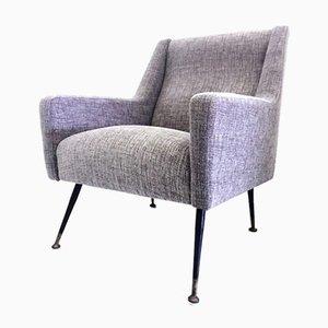 Mid-Century Italian Lounge Chair by Marco Zanuso, 1950s