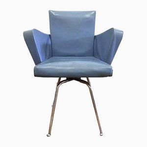 Mid-Century Italian Swivel Chair by Gastone Rinaldi, 1950s