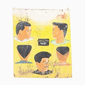 Vintage Friseurschild