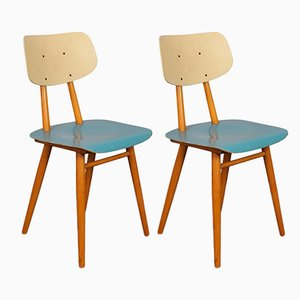 Stühle von TON, 1960er, 2er Set
