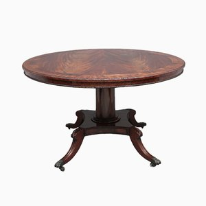 Early 19th Century Flame Mahogany Breakfast Table
